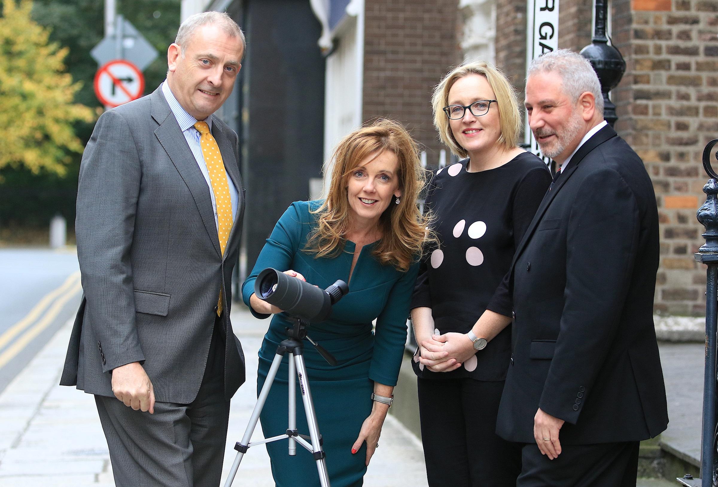 Neil McDonnell, CEO, ISME Alison Cowzer, Director, East Coast Bakehouse, Elizabeth Fallon, Key Account Manager, Sunday Business Post and  John Popolizio, CEO, Sovy