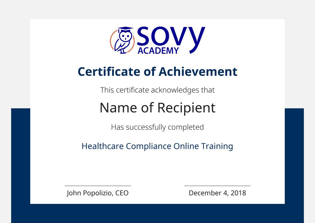 Healthcare Compliance